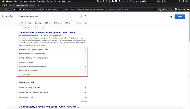 google faq schema achieved in 5 minutes